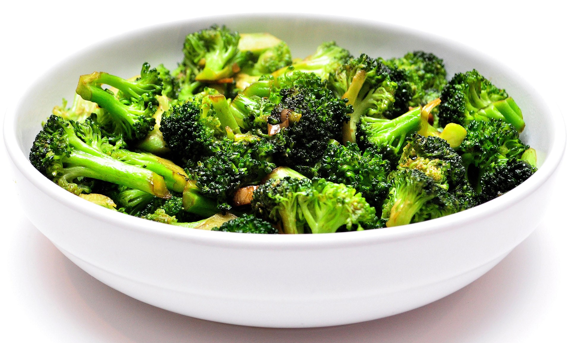 Garlic Gingered Broccoli