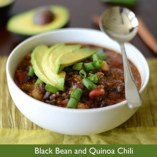 Healthy Black Bean and Quinoa Chili – Perfect For Cold Weather