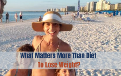 What Matters More Than A Diet To Lose Weight?